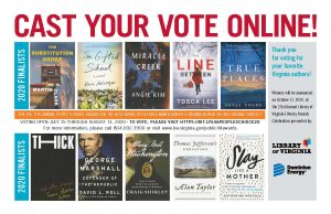 Cast Your Vote Online - LVA's People Choice Awards book covers