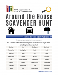 Around the House Scavenger Hunt