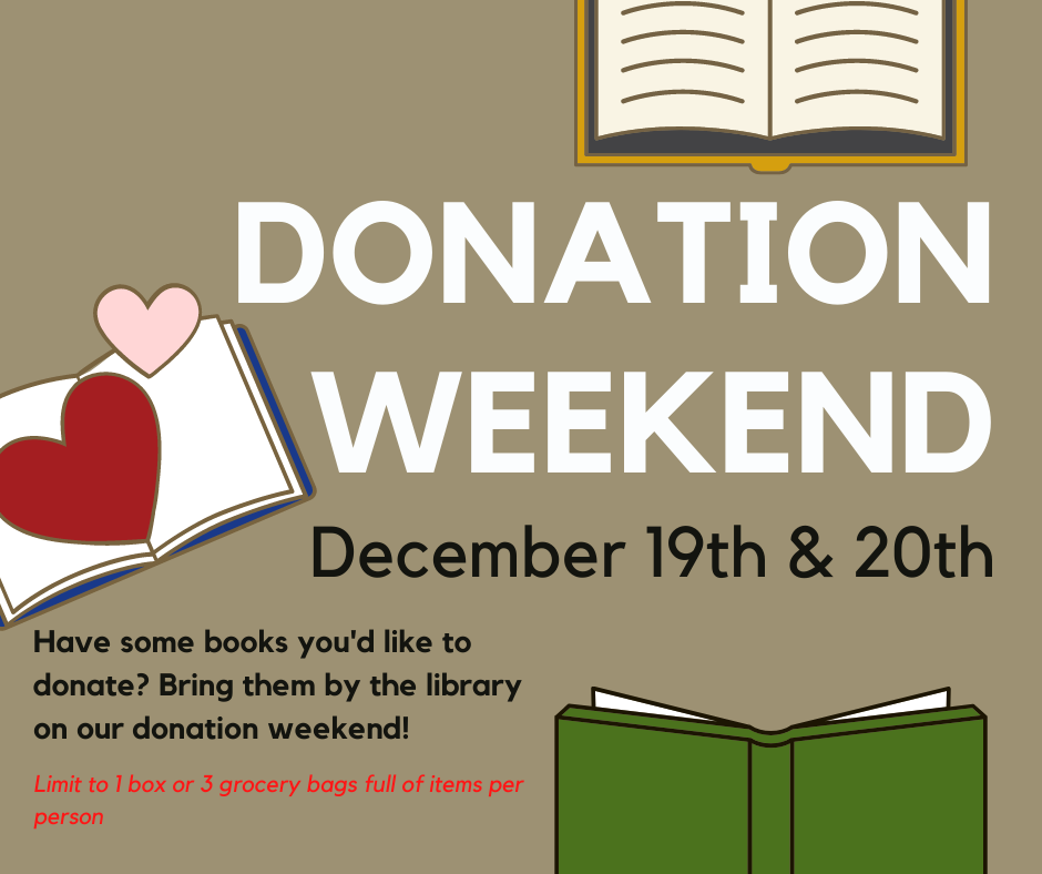 Donation Weekend