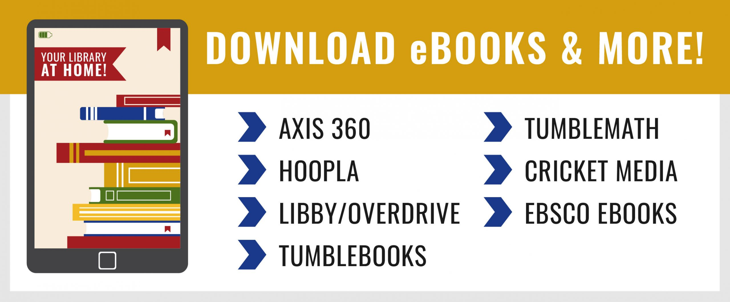 eBooks Available